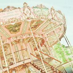 cute pastel carousel