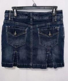Gloria Vanderbilt Denim Jean Skort ~ Women's Size 8 | Clothing, Shoes & Accessories, Women's Clothing, Skirts | eBay!