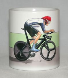 Cycling Mug. Organizing Committee, Bradley Wiggins, Tony Martin, Team Gb, Jaguar E Type, Trials, Printing Process, Olympics, Cycling