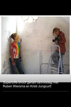 Schoot met Peter Musschinga en Ruben