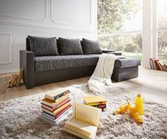 Couch Avondi Schwarz 225x145 Schlaffunktion Ottomane variabel Ecksofa Jetzt bestellen unter: https://moebel.ladendirekt.de/wohnzimmer/sofas/ecksofas-eckcouches/?uid=2d080864-e851-50bf-ab6e-771c92078516&utm_source=pinterest&utm_medium=pin&utm_campaign=boards #sofas #wohnzimmer #ecksofaseckcouches