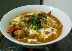 Thai red curry..