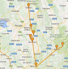 5 giorni in camper in Umbria