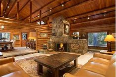 Image result for montana upscale log cabin ranches