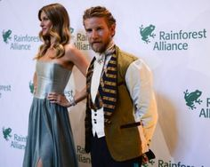 Giselle and Jeff Garner at Rainforest Alliance Gala NYC
