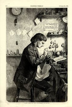 Illustrated watchmaker