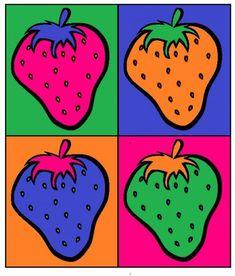 Andy Warhol and Pop Art. Exploring Artists – Art lessons for Children Andy Warhol and Pop Art. Exploring Artists – Art lessons for Children Pop Art For Kids, Art Lessons For Kids, Kids Pop, Fiesta Pop Art, Pop Art Food, Arte Elemental, Pop Art Party, Andy Warhol Pop Art, Pop Art Movement