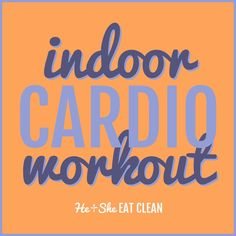 It's easy to slack off during the winter but just getting a little movement  in during the day will give you the mental and physical boost you need to  tackle your to-do list! I love to do a quick cardio circuit in the mornings  just to help me wake up. Try this one, even if you can only do it one time  through - small steps add up! Keep at it and work your way up to repeating  the circuit three times.  P.S. How cute is this sports bra?! I love the colors...and the skinny (but  supportive)…