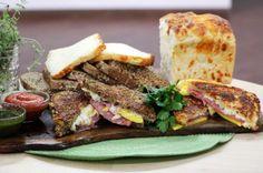 Chef Devan Rajkumar's Salami, Mango & Brie Grilled Cheese Sandwich Recipe | Cityline