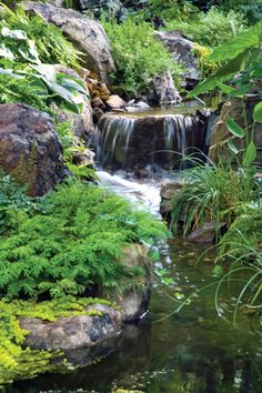 Creating Realistic Backyard Streams And Waterfalls Requires Attention To Fine Details