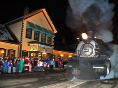 Durango, Colorado  Durango's Polar Express ride is a special excursion on a real steam locomotive. Destination: the North Pole.