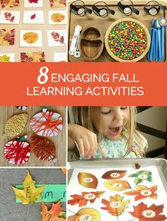8 Engaging Fall Learning Activities for Kids