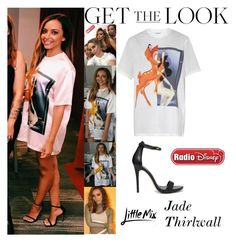 """""""Jade Thirlwall Little Mix At Radio Disney In Los Angeles CA February 1, 2017"""" by valenlss ❤ liked on Polyvore featuring GHD, Disney and Givenchy"""