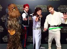 The boys of 5 Seconds Of Summer went all out with their costumes. oh my goodness
