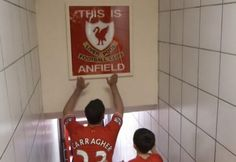 """May 19, 2013 - """"The name on the back of the shirt will never be as important as the crest on the front,"""" Jamie Carragher"""