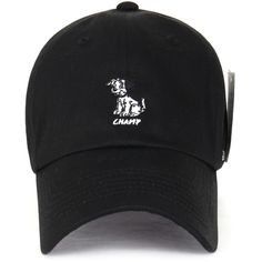 22ec4d6baba Disney Cotton Cute 101 Dalmatians Logo Adjustable Curved Hat Baseball...  ( 14) ❤ liked on Polyvore featuring accessories
