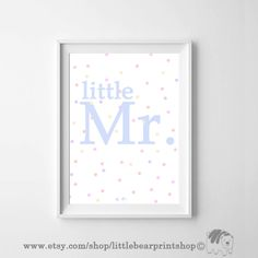 Little Mr in Blue. Size A2 Digital Download 8.68€. Printable artwork is a beautiful, quick and cost effective way of updating your art. Available on Etsy. ❤️🐻❤️