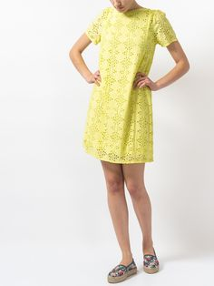 Indi & Cold Embroidered Dress   Maze Clothing