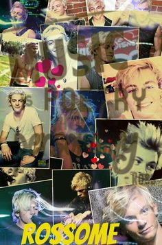 Ross collage made by Kaitlyn's Collages @kaitlynbeasley1 for @R5familys !! If you want one please comment what you want!! If you repin please give credit!! :)