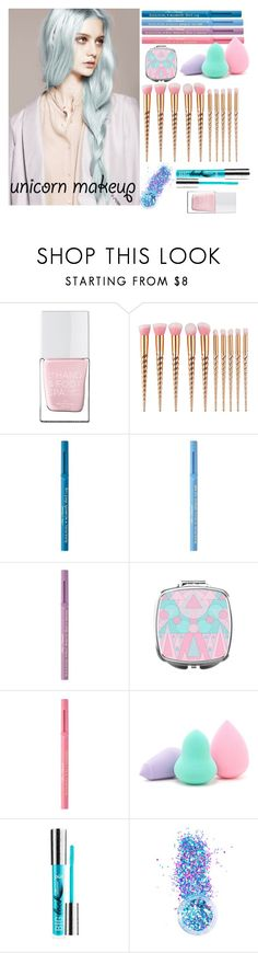 """""""Rainbow"""" by yendry-mariela-garcia-perez on Polyvore featuring beauty, The Hand & Foot Spa, Too Faced Cosmetics, Forever 21, PurMinerals and In Your Dreams"""