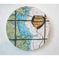 Tutukaka Dinghy by Justine Hawksworth Free Online Shopping, Art Programs, Map Art, Dinghy, Kiwi, Artists, Models, Jon Boat, Templates