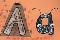 Aa: ant and Anthill Classroom Crafts, Classroom Activities, Classroom Ideas, Letter Sound Activities, Alphabet Letter Crafts, Writing Practice Worksheets, Letter Of The Week, Phonemic Awareness, Tot School