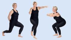 Kom i super form: Nemt træningsprogram, der kun tager 12 minutter K Om, Bed Workout, Beauty And The Best, Massage, Senior Fitness, Keep Fit, Yoga Routine, Yoga Flow, Workout Challenge