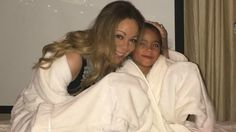 Mariah Carey Relaxed During A Spa Night With The Twins And The Pet Pooch #Disneyland, #MariahCarey celebrityinsider.org #Entertainment #celebrityinsider #celebrities #celebrity #celebritynews