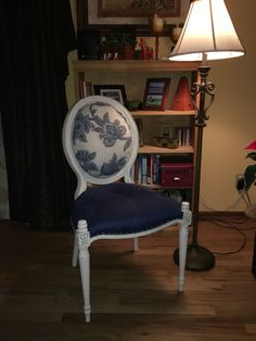 Rescued Bombay Medallion Back Chair #ChairishedFurnishing