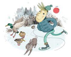 F E L I X & F E L I N C H E N | a series for kids by Anne Wenkel, via Behance