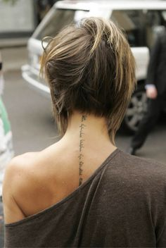 If I was braver, I'd copy her tat.