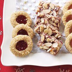 Easy Christmas Cookie Recipes | Raspberry-Almond Bars | AllYou.com