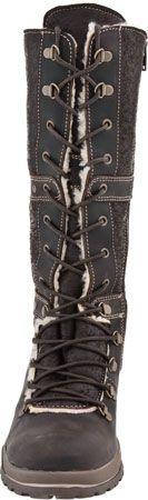 Bos & Co Buckhorn Women's Lace-up boot (Dark Brown)