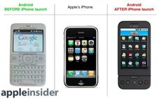 Documenti Google dimostrano che prima dell'iPhone Android era un semplice telefono Java.