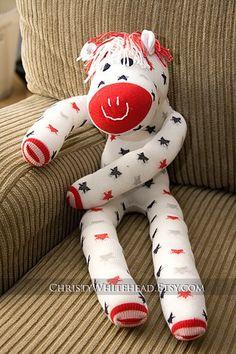 Stars the Sock Horse. So cute!