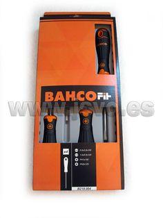Set 4 destornilladores BahcoFit B219.004 #herramientas #bricolaje #taller #BAHCO