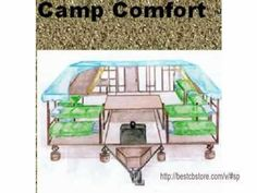 DIY portable camp plans. build your own camper plans & trailer your camp