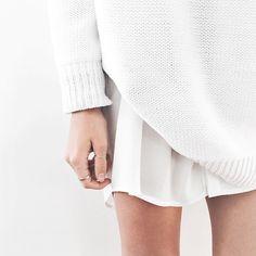 Still really into white on white dressing