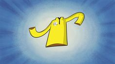 waarom is de gele trui geel?