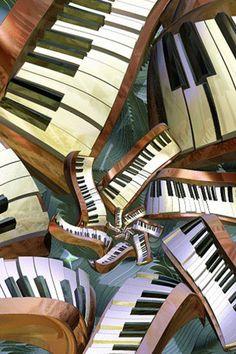 lost pianos