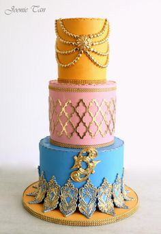The Moroccan Wedding - Cake by Joonie Tan