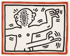Stay up to date with Keith Haring (American, 1958 - . Discover works for sale, auction results, market data, news and exhibitions on MutualArt. Keith Haring Art, New York Times Magazine, Marketing Data, London Art, Art Studies, Art Auction, Graffiti Art, Stuff To Do, Pop Art