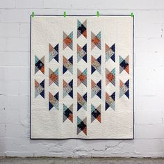 Fieldcrossing Quilt - free pattern