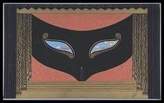 Erte-The Mask 1925