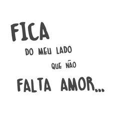 APIMENTANDO SUA VIDA!: Que não falta amor...