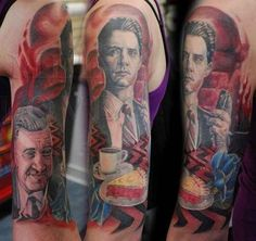 Twin Peaks | 15 '90s TV Show Tattoos You Won't Believe Exist