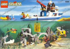 LEGO 6560 Diving Expedition Explorer Image 1