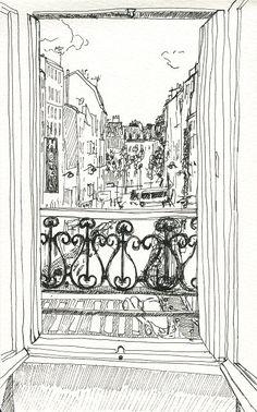 Rue du roi d'Alger, Paris 18ème
