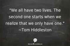~Tom Hiddleston