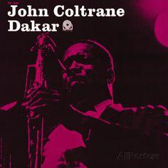 John Coltrane - Dakar Premium Poster